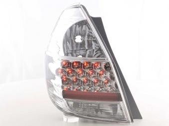 Led Taillights Honda Jazz /Typ Gd15/Ge23 Yr. 02- Chrome