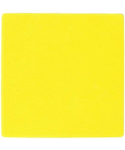 ceinturesd carr e 20 x 20 cm pour marquage au sol de couleur jaune visiodirect. Black Bedroom Furniture Sets. Home Design Ideas