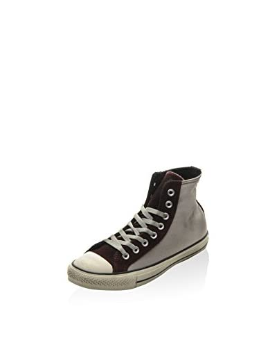 Converse Hightop Sneaker All Star Hi Terry grau/bordeaux