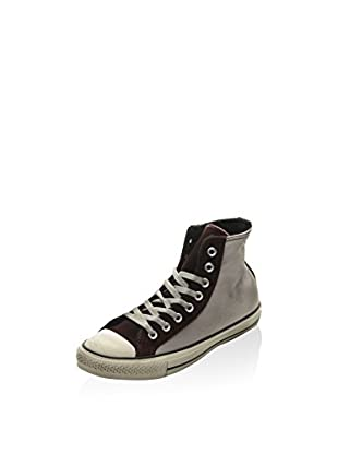 Converse Zapatillas abotinadas All Star Hi Terry (Gris / Burdeos)