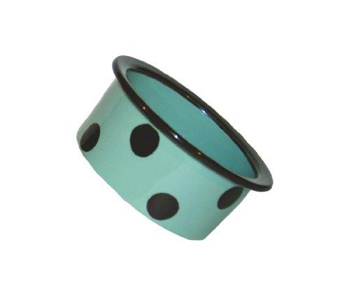 """Petrageous Designs Sassy Too 6"""" Deep Dot Pet Bowl"""