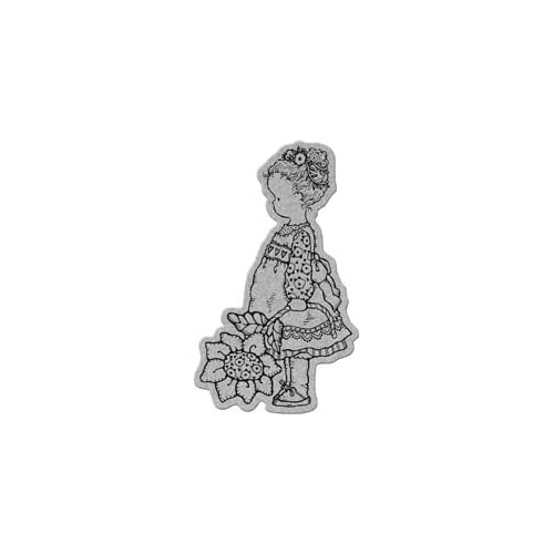 Penny Black Cling Rubber Stamp 4X5.25