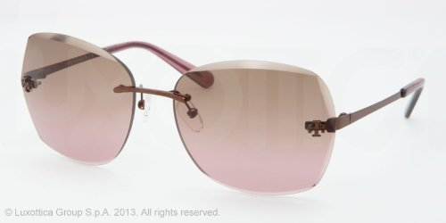 Tory Burch Tory Burch Ty6016 Sunglasses 104/14 Brown Brown Gradient Pink 62 17 125