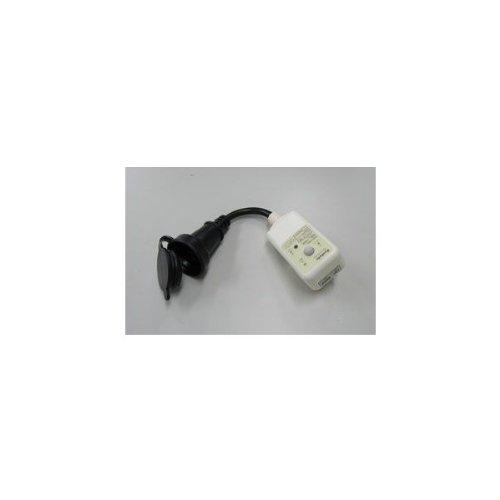 エスコ AC100V/15A/0.15m漏電保護プラグ EA940ME-18A
