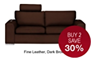 Finn Large Sofa - Leather