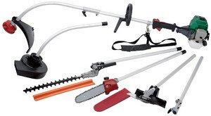 Draper Expert 14153 26 cc Petrol 5-in-1 Garden Tool