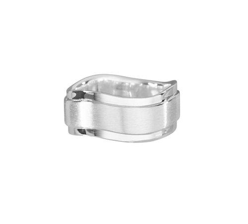 VINANI Damen Ring Infinity Wave Silber 925 RIW Gr: 62/20