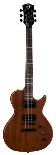 Luna Gypsy Neo Electric Guitar,Natural Mahogany