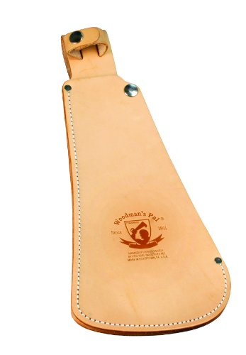 Pro Tool Industries 510-4 Woodman'S Pal Fixed Blade Knife With Natural Leather Sheath