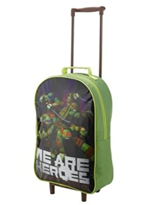 Teenage Mutant Ninja Turtles 5 Piece Luggage Set - Green, The ultimate luggage set for a Teenage Mutant Ninja Turtles fan, it includes everything your child will need for transporting their belongings.