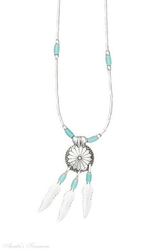 Sterling Silver Turquoise Heshi Bead Concho Choker Necklace