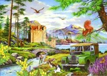 The House of Puzzles - Hooked - 500 Piece Jigsaw Puzzle - 1
