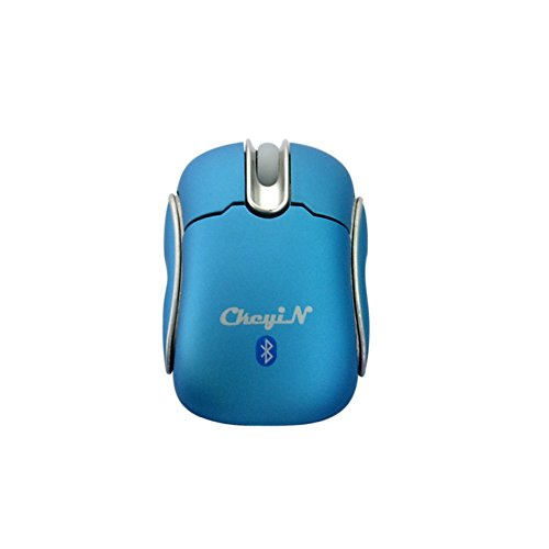 Ckeyin Bluetooth Optical Mini Mouse For Computers And Android Tablets, Smartphones - Blue