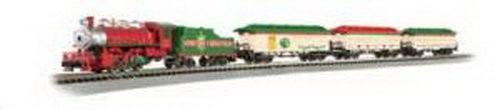 Bachmann Spirit Of Christmas Ready To Run Electric Train Set - N Scale front-541264