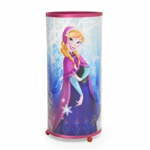 Disney Frozen Elsa & Anna Cylinder Glitter Lamp Night Light