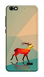 Huawei Honor 4X Back Cover Kanvas Cases Premium Quality Designer 3D Printed Lightweight Slim Matte Finish Hard Case for Huawei Honor 4X