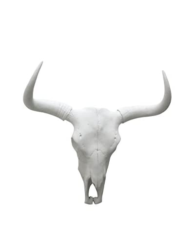 Three Hands Resin Bison Faux Skull