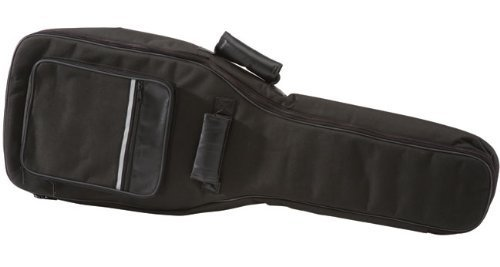 Deluxe Stronghold Brand® Padded Bass Bag (Soft-case) - With Zippered Pouch,back Pack Straps, and Carrying Handle