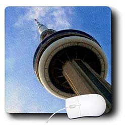 SmudgeArt Photography Art Designs - CN Tower Tronto Ontario Canada - Mouse Pads