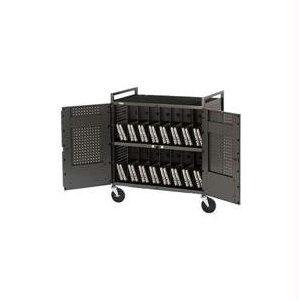 Bretford Netbook Cart.Secures And Recharges Up To 32