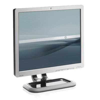 "Hp L1710 Silver 17"" Screen 1280 X 1024 Resolution Refurbished Lcd Flat Panel Monitor"