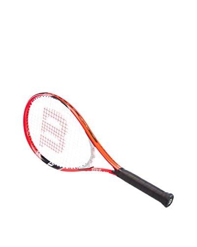 """Wilson Raqueta Federer Rojo / Negro / Blanco L3 (4 3/8"""")"""