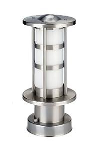 IVT 330002 stilvolle Außen-Sockelleuchte (Höhe 30 cm 230V/50 Hz max.40 W, ohne Leuchtmittel)