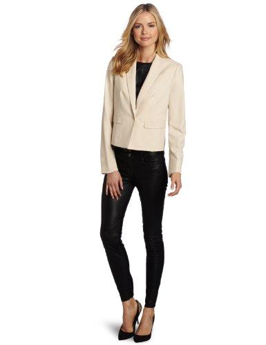 Jones New York Women's Short Notch Collar Jacket