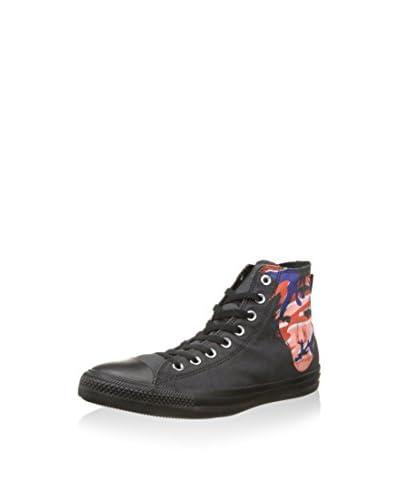 Converse Zapatillas abotinadas Negro / Rojo / Azul