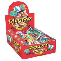 topps ring pop twisted fruit pop candy 24 piecespack