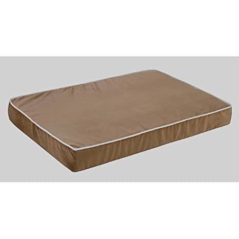 Isotonic Foam Mattress in Acorn Fabric (2X Large: 35 x 52 x 6 in.)