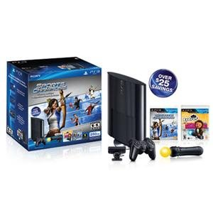 Sony PlayStation 99156 PS3 250GB Move HW Bundle