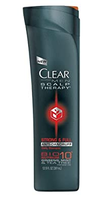 Best Cheap Deal for CLEAR MEN SCALP THERAPY AntiDandruff Shampoo, Strong & Full, 12.9 Fluid Ounce from Clear - Free 2 Day Shipping Available
