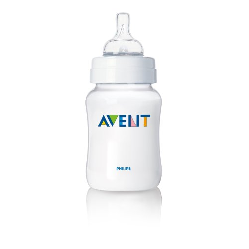 Philips AVENT BPA Free Classic Polypropylene Bottle, Opaque, 4 Ounce, 5 Pack (Discontinued by Manufacturer)