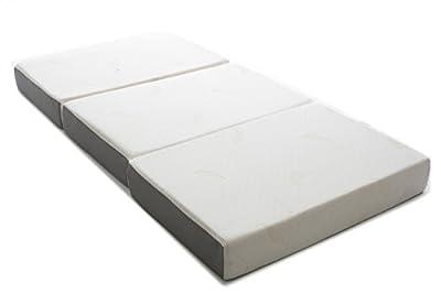 milliard 6 inch memory foam tri fold mattress Milliard 6 Inch Memory Foam Tri fold Mattress with Ultra Soft  milliard 6 inch memory foam tri fold mattress
