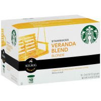 Starbucks Sbux Kcup Veranda Coff 10 count (Pack Of 6) from Starbucks