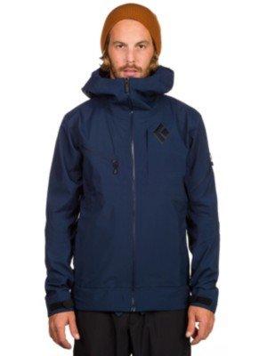 Herren-Snowboard-Jacke-Black-Diamond-Recon-Shell-Jacke