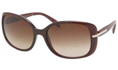 prada Prada PR08OS Sunglasses-IAD/6S1 Bordeaux Gradient Red (Brown Grad Lens)-57mm