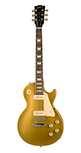 Gibson Les Paul Studio 60s Tribute Electric Guitar, Worn Gold Top