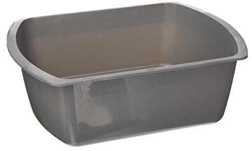 medline-rectangular-plastic-wash-basins-graphite