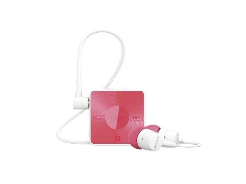SONY カナル型ワイヤレスイヤホン Bluetooth対応 リモコン・マイク付 ピンク SBH20/P