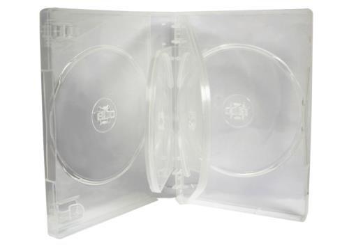 (Confezione da 5), 27mm MasterStor spin 5Vie CD/DVD, con lucchetto M Super trasparente materiale di alta qualità
