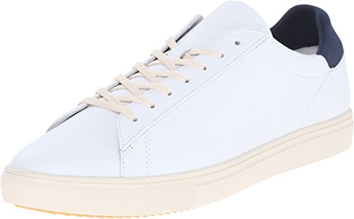 Clae Men's Bradley White Leather Sneaker 11 D (M)