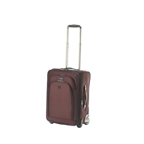 Travelpro Luggage Platinum Expandable Wide Body Rollaboard, Plum, One Size
