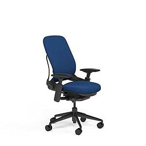 steelcase leap plus desk chair in buzz2 blue
