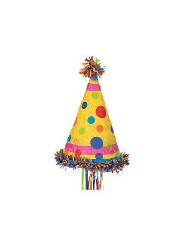 Polka Dot Party Hat Pinata