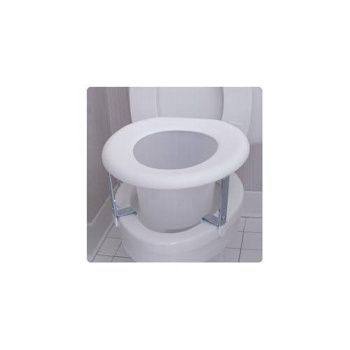Astounding Sammons Preston Universal Plastic Adjustable Raised Toilet Seat Creativecarmelina Interior Chair Design Creativecarmelinacom