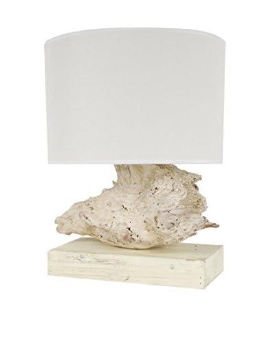 Tree Root Table Lamp, Beige