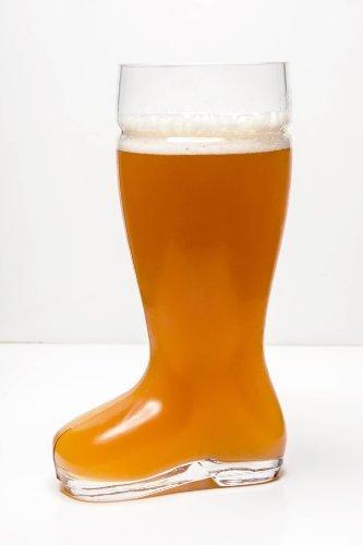 High Quality Oktoberfest Style Glass Beer Boot / Das Boot - Octoberfest Glass Beer Mug - 2 Liter