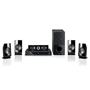 LG LHB336 1100W 3D Blu-ray Home Theater System with Smart TV
